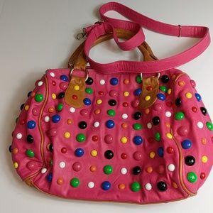 Orange Caramel Boutique Barrel Bag Pink Gumdrop